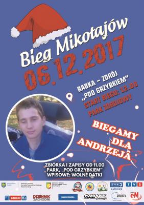 Bieg Mikołajów już w środę o 12.00 !